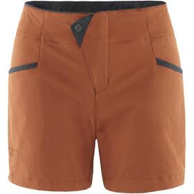 Klättermusen Vanadis 2.0 Shorts Dame rust